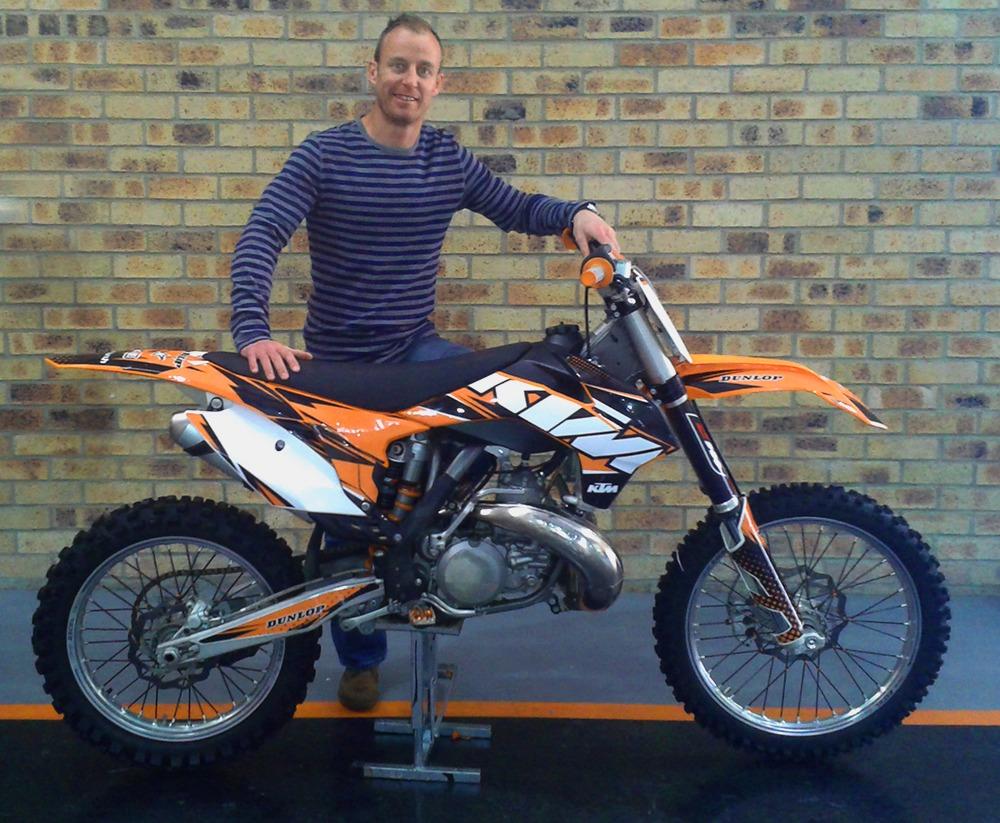 Franz's KTM SX 2013